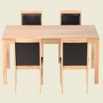 Charlton Oak Dining Table Set