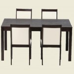 Charlton Wenge Dining Table Set