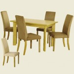 Dakota Dining Set Cream Chairs