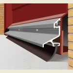 2.1m Garex Garage Door Draught Excluder SS