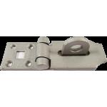 156mm Heavy Duty Hasp And Staple Grey Enamel