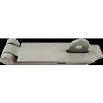 158mm Heavy Duty Hasp And Staple Grey Enamel