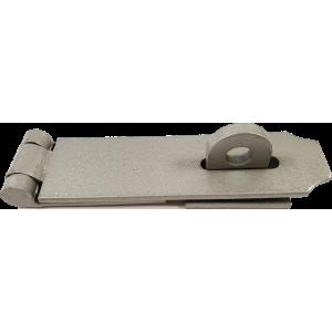 198mm Heavy Duty Hasp And Staple Grey Enamel