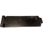 Hasp And Staple 10 Inch Black