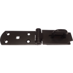 Hasp And Staple 8 Inch Black