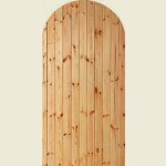 Softwood Arch Top Gate