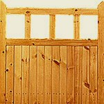 Softwood Garden Gate Kit