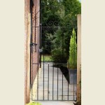 33 x 72 Arch Top Scroll Gate