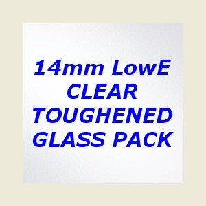 Georgian Toughened Clear Double Glazing Pack