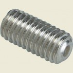 M5 x 8mm Grub Screw SS