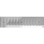 305mm x 75mm Ventilator Grill Polished Stainless Steel