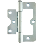 102mm Hurlinge Loose Pin Butt Hinge Zinc Plate