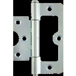 76mm Hurlinge Loose Pin But Hinge Bright Zinc