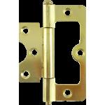76mm Hurlinge Loose Pin Butt Hinge Polished Brass