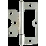 76mm Hurlinge Loose Pin Butt Hinge Polished Chrome