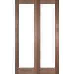 36 x 78 Patten 20 Hardwood Double Doors Unglazed