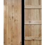 24 x 78 Ledged Solid Oak Cottage Door