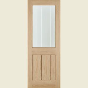 Belize Glazed Oak Doors