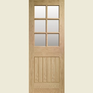Suffolk Oak Glazed Doors