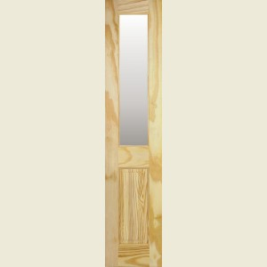 18 x 78 Clear Pine Richmond Door Obscure Glazed
