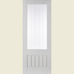 & 30 x 78 Dordogne Glazed Door in White