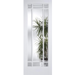 30 x 78 Manhattan Clear Glazed Door White