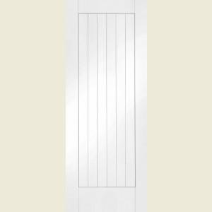 24 x 78 Solid White Suffolk Door & x 78 Solid White Suffolk Door