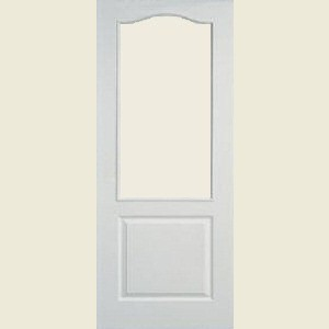 One Light Arch Top Textured Apertured Doors