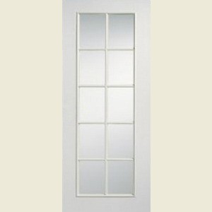 Ten Light Smooth Apertured Doors
