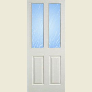 Two Light Smooth Fireshield Doors