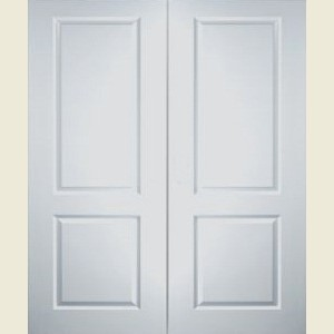 Two Panel Smooth Door Pairs