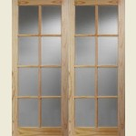 2SA Softwood Door Pairs