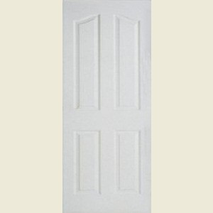Four Panel Arch Top Textured Doors