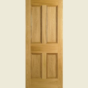 Four Panel White Oak Doors