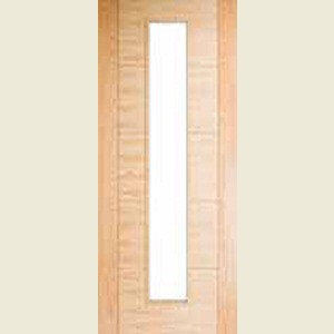 33 x 78 5 panel v grooved glazed door for Door design with groove