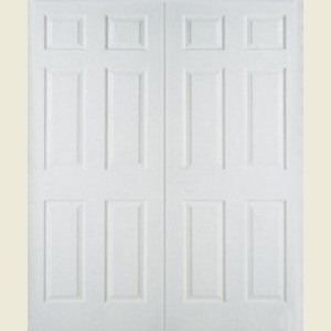 Six Panel Textured Door Pairs