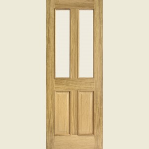 Richmond Bolection White Oak Doors