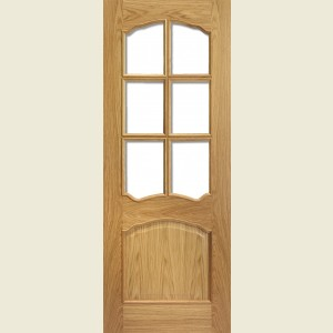 Pre Finished Riviera Bolection White Oak Doors