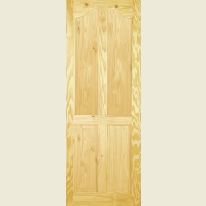 Clear Pine Tunis Four Panel Doors