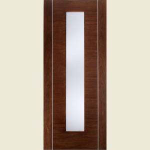Alcaraz Glazed Walnut Doors