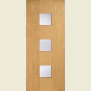 Catalonia Glazed Oak Doors