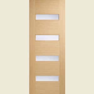Monaco Glazed Oak Doors