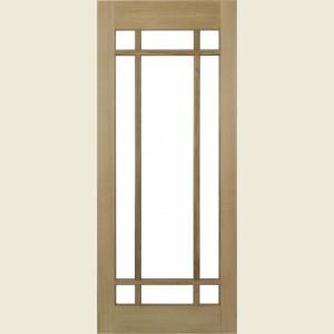 Pre Finished Lyon Glazed Oak Doors