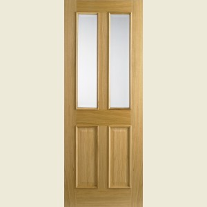 33 x 78 Richmond Glazed Oak Door