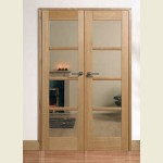 49 x 80 Pre-Finished Oslo Oak Room Divider Set