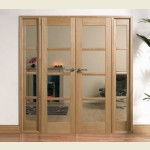 75 x 80 Pre-Finished Oslo Oak Room Divider Set
