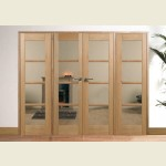 97 x 80 Pre-Finished Oslo Oak Room Divider Set
