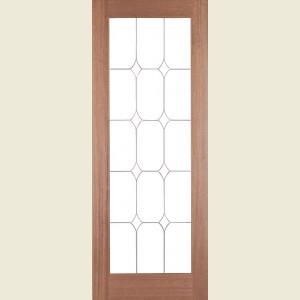 SA Diamond Glazed Hardwood Doors