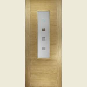 Coruna Glazed Oak Doors