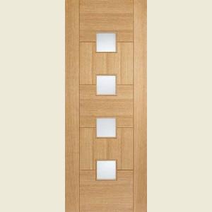 Quebec Glazed Oak Doors